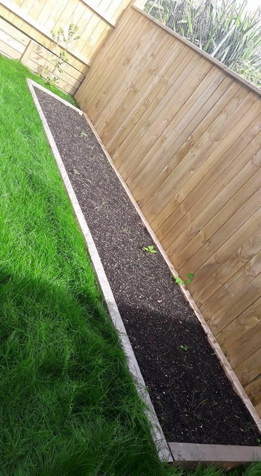 Vege Garden Install